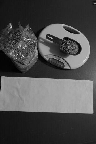 Coudre une bouillotte comme cadeau de Noël (2) : fabrication de la partie bouillotte