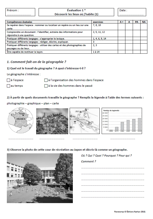 Evaluations Fichiers Hist Geo Panoramas Nathan Cm1 Et Cm2
