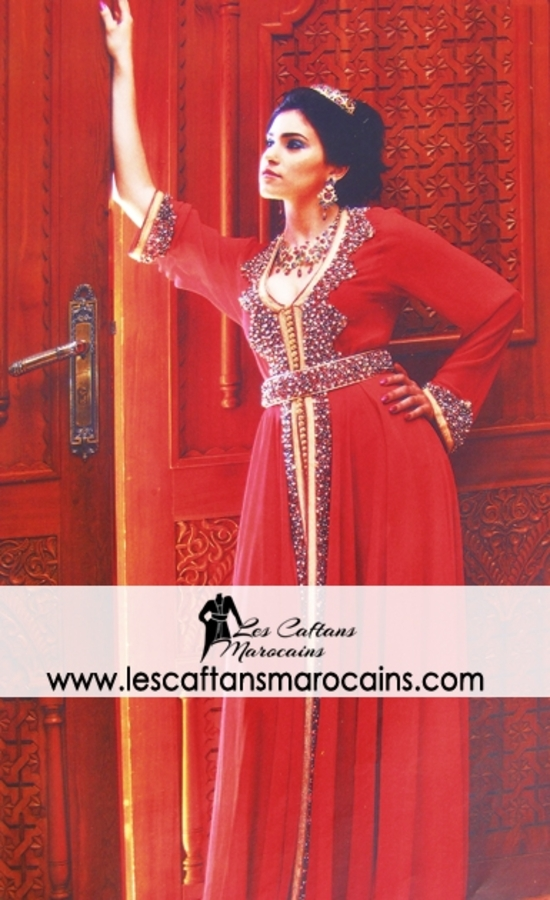Caftan 2015 de création haute couture pour mariage marocain - MOD CAFTAN 32f34d8615f