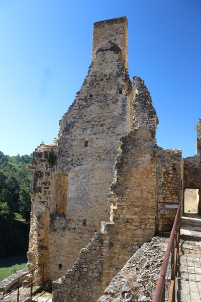 Au Château de Bonaguil