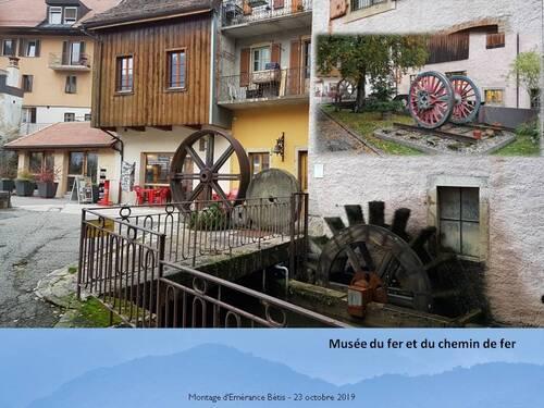 Vallorbe en Suisse