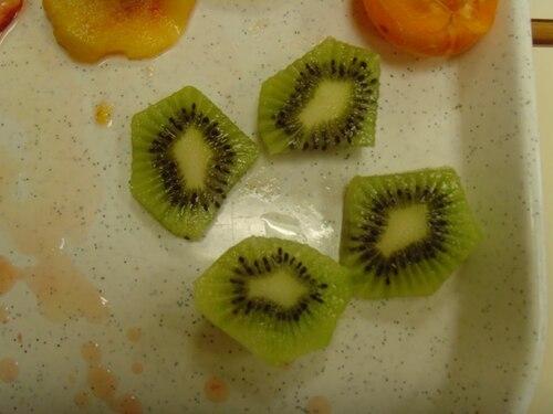 le lundi, ce sont les fruits