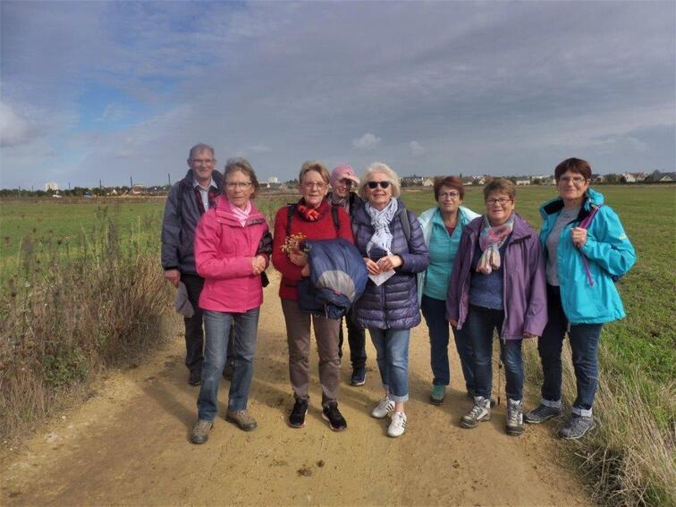 La balade du 8 octobre à Fleury-sur-Orne