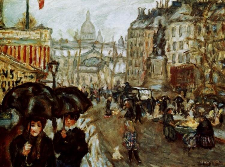 Le droit mène à tout : Pierre Bonnard