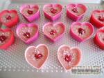 Cœurs fondants coco framboise