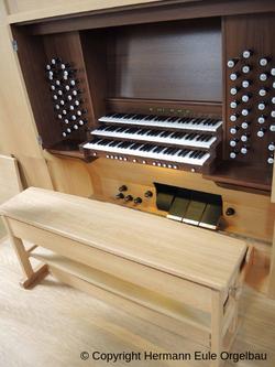 Nouvel orgue à Bielefeld