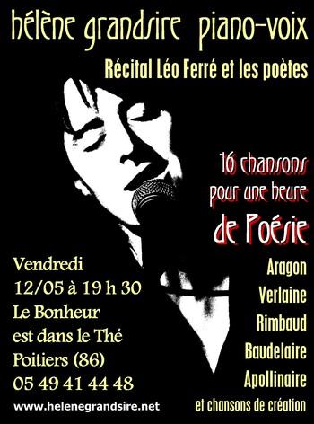 Prochain concert : demain soir à Poitiers !