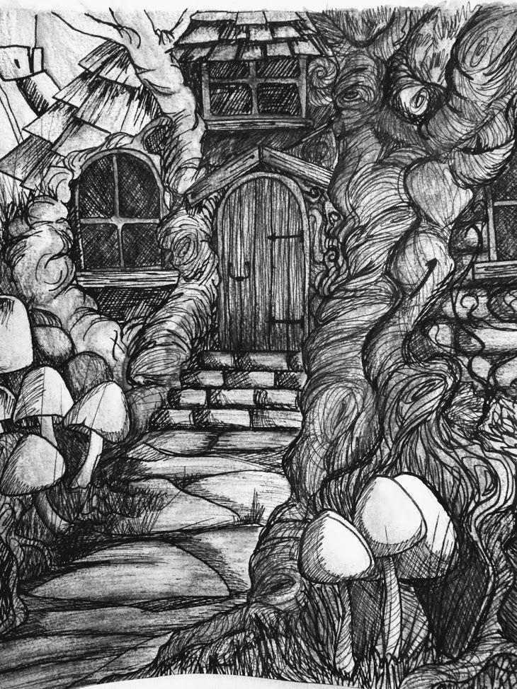 maison au pays des fées