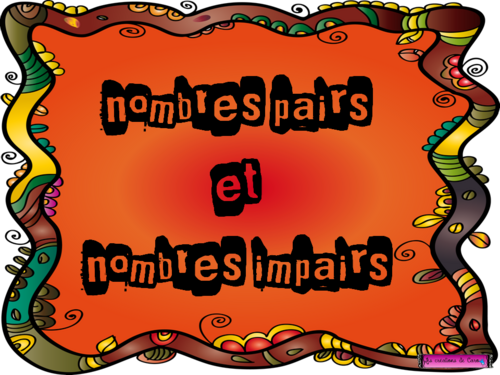 NOMBRE PAIR IMPAIR