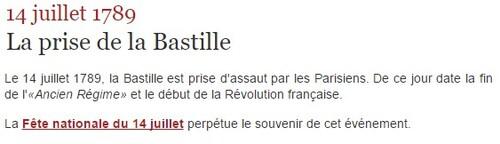 Fête nationale de la France