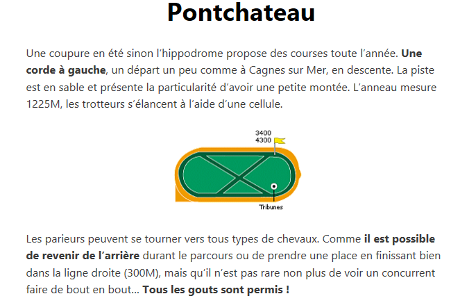 18/04 Quinté Pontchâtea