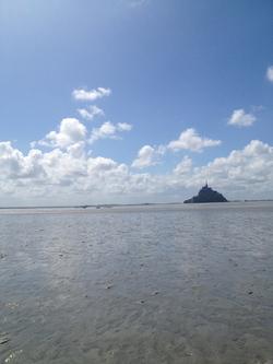 Etude géologique du paysage du Mont Saint Michel
