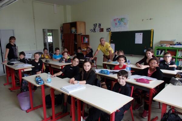 photo de la classe de CM2 2017 2018