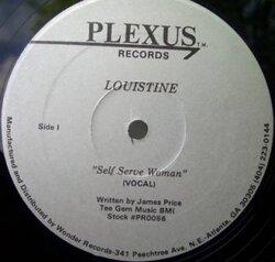 Louistine - Self Serve Woman