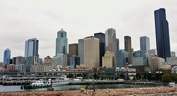 Jour 30 Seattle Waterfront vu du navire (3)