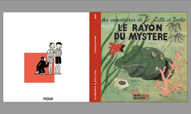Le Rayon du Mystère : version initiale Coeurs Vaillants