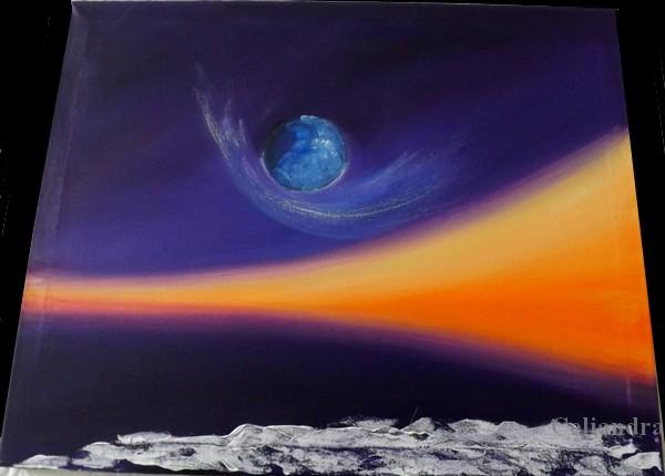 peinture: Planète