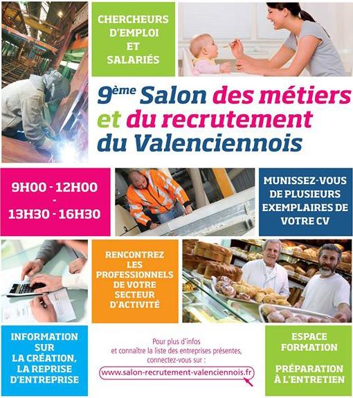 Salon des métiers et du recrutement, à Condé/Escaut