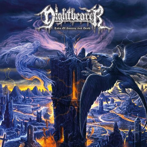 NIGHTBEARER - Détails et extraits du premier album Tales Of Sorcery And Death