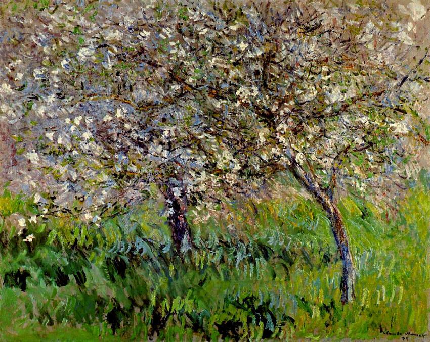 10 Tableaux de Claude Monet