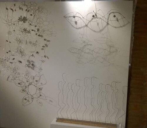 L'art et la matière galerie des Hospices à Canet