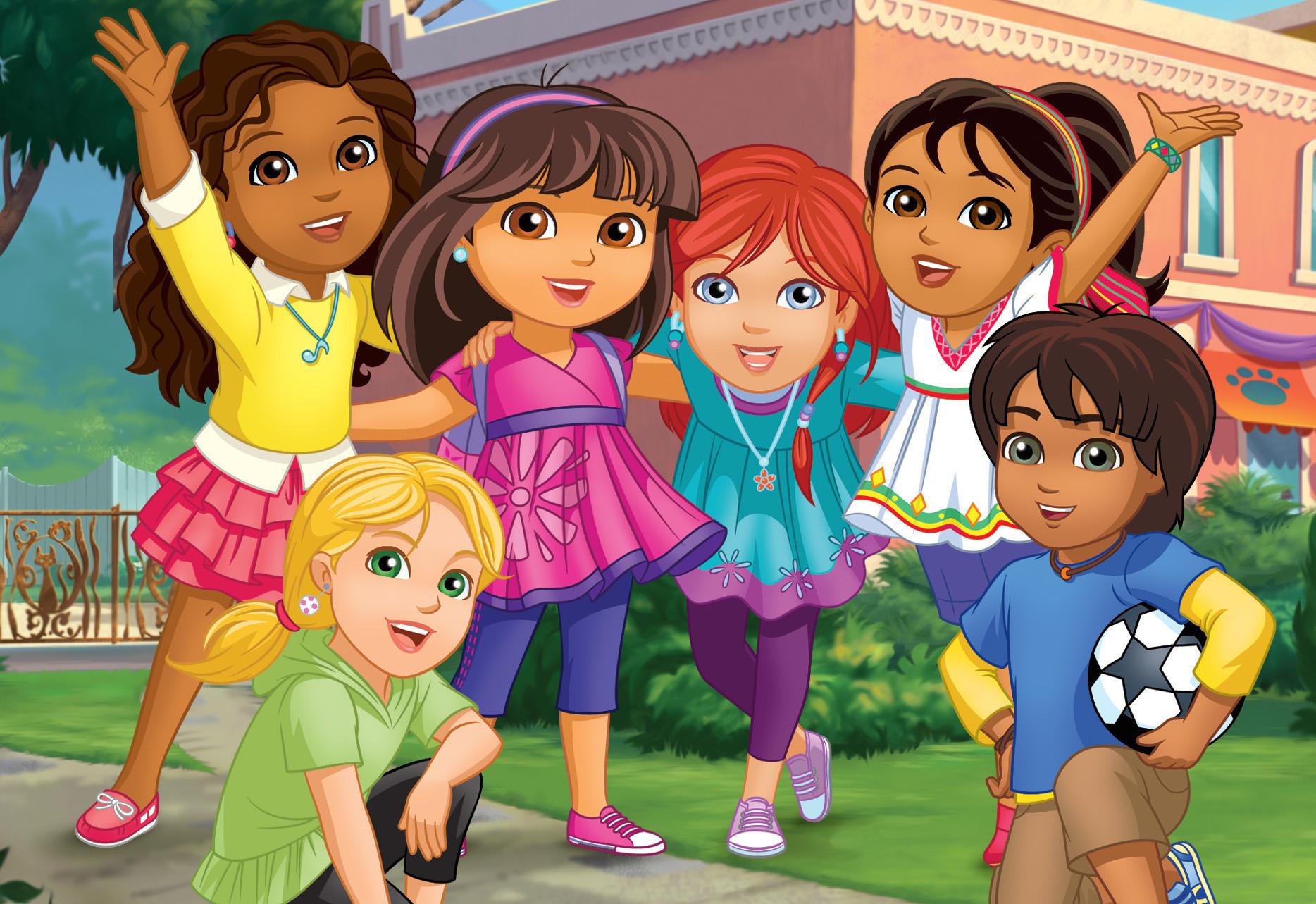 Dora & Friends - Anama no Sekai