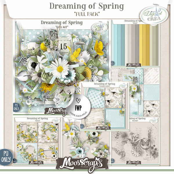 Dreaming of Spring - collection