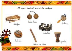 vocabulaire - Afrique