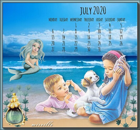 bon mois de juillet