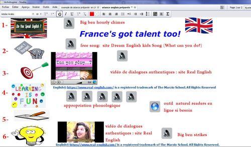 Ressources et outils numériques pour l'enseignement de l'anglais