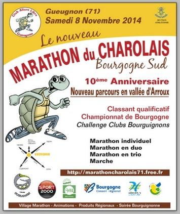 Marathon du Charolais 8 novembre 2014