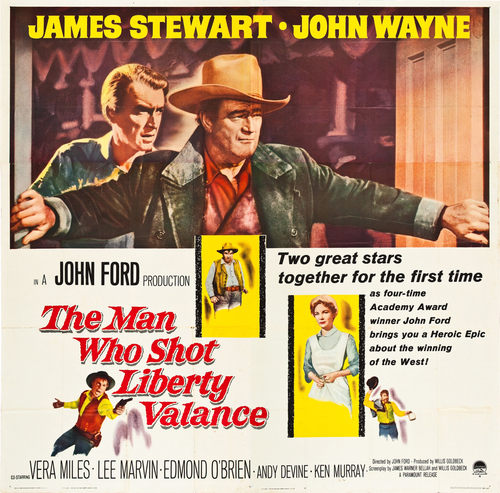 L'HOMME QUI TUA LIBERTY VALANCE BOX OFFICE