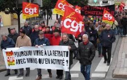 """La CGT, ce, n'est qu'une émanation du """"PCF"""" et à l'origine financée avec FO par Staline..."""