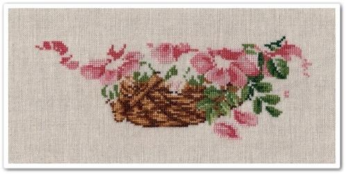 Wild Roses Basket 3