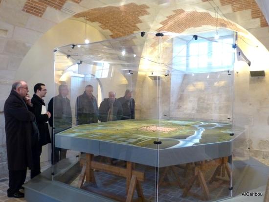 Plan-relief de la citadelle de Brouage