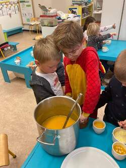 -Préparation de la soupe