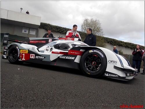 Warm-up Le Mans d'Audi LE 25 MARS 2014