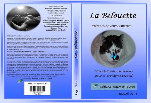 """Notre 3e recueil 'La Belouette"""" est sorti !"""