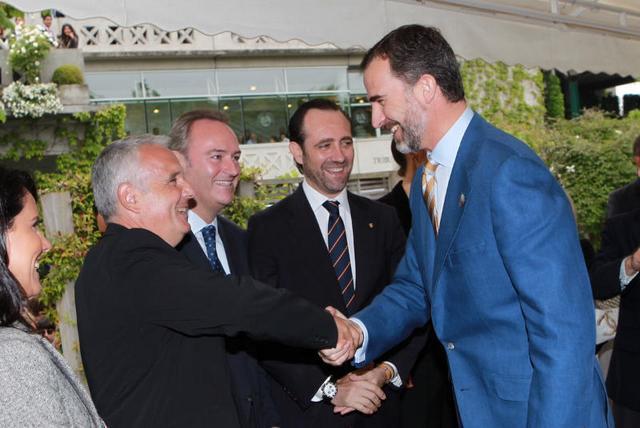Felipe à Rolland Garros