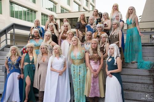 Brochette de Daenerys
