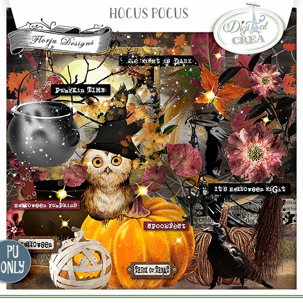 Hocus Pocus { Kit PU } by Florju Designs