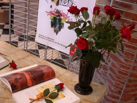 Un livre et une rose, pour la Culture et l'Amour