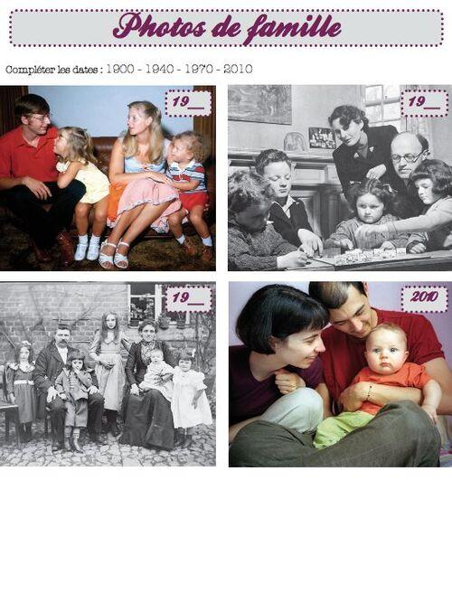 génération et mémoire familiale - ce1 ce2