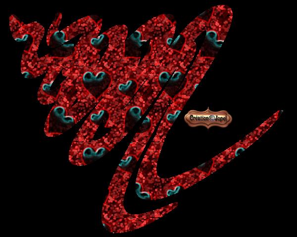 Forme divers en rouge