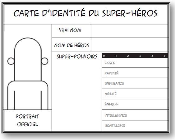 Thème de classe Super-héros