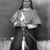 "Marie (also known as ""Old Lady Grizzly Bear""), a Native American woman on the Flathead Indian Re"