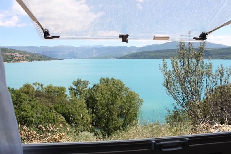 765 - Autour du Lac de Sainte Croix