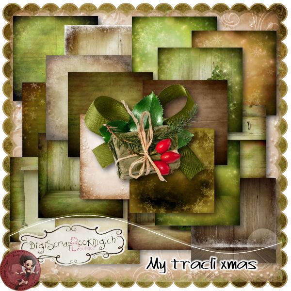 """My Tradi Xmas"" par Scrap'Angie"