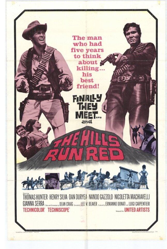 THE HILLS RUN RED box office usa 1967