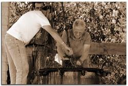 Fête de la lavande à Barrême (Alpes de Haute Provence)